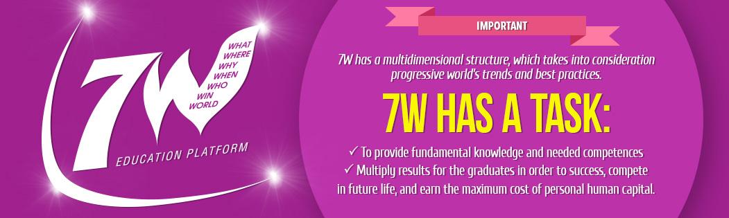 7W Education Platform